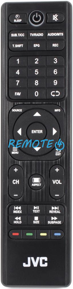 Genuine JVC LT-43C862 TV Remote Control